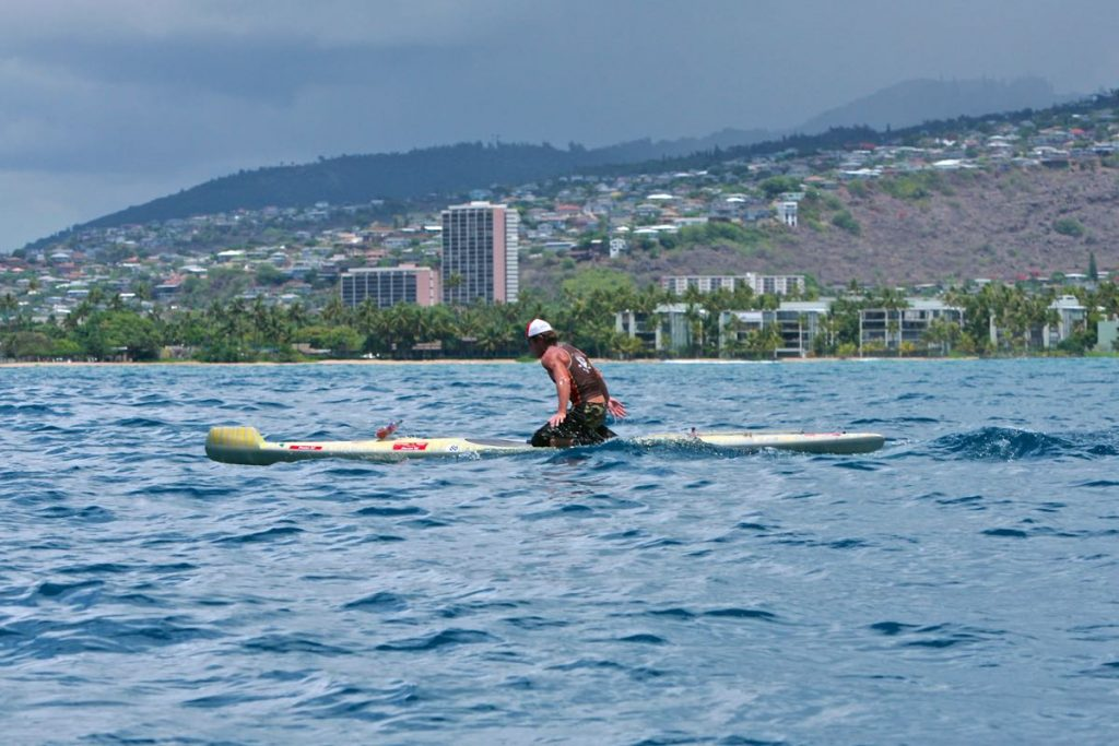 Chris Owens, having paddled all the Hawaiian Channels reveals his training meathods!