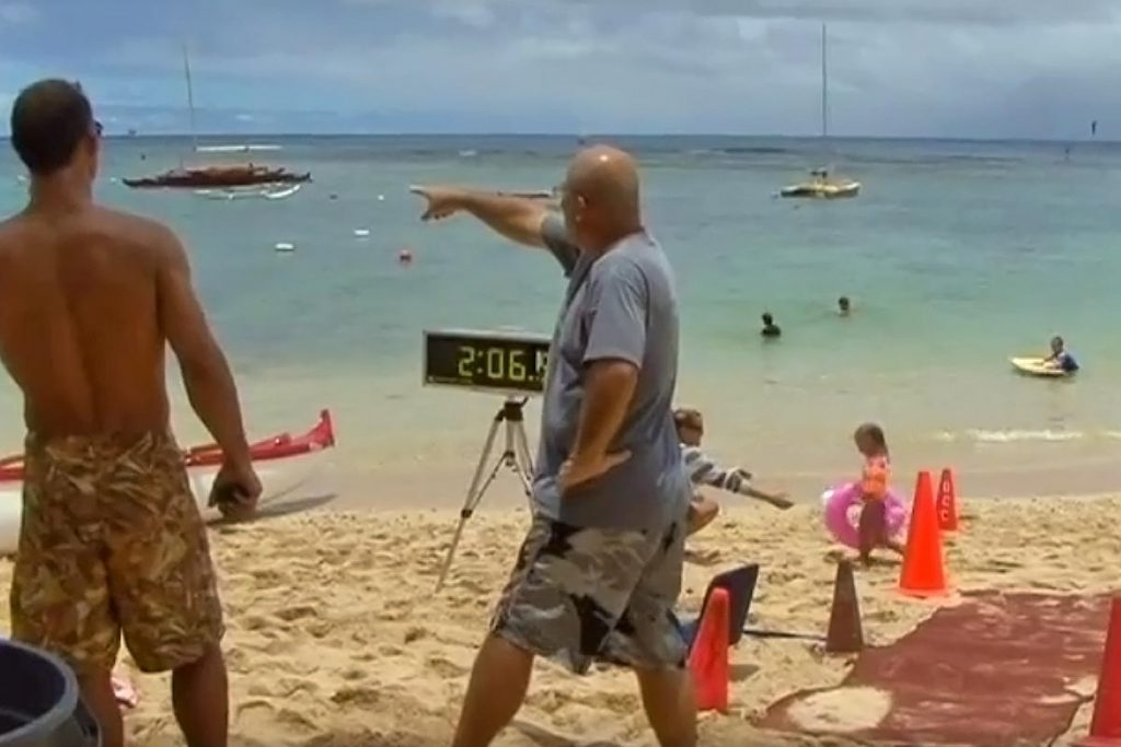 2007 Hawaii Paddleboard Championship Video