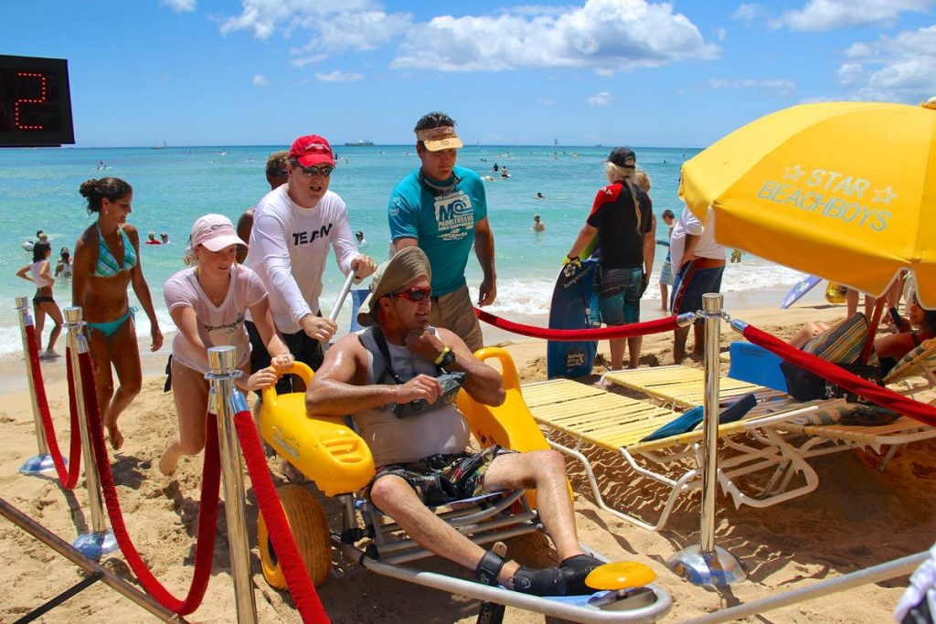 The Hawaii Paddleboard Championship is Proud to be an Accessible Event!